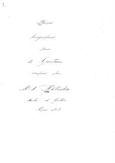 Vierundzwanzig progressive Stücke : Heft III Nr.16-17, Heft IV No.22 by Wenzel Thomas Matiegka