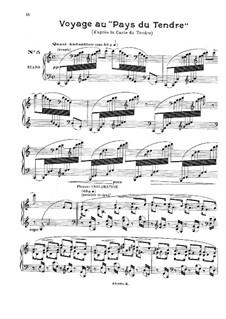 Sechs Stücke für Klavier: Stücke Nr.5-6 by Gabriel Pierné
