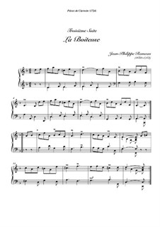 Cembalosuite in D-Dur, RCT 3: La boiteuse by Jean-Philippe Rameau