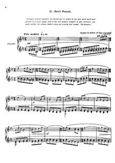 Meine Mutter die Gans. Suite, M.60: Nr.2 Der kleine Däumling, für Klavier by Maurice Ravel