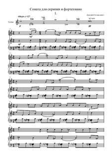 Соната для скрипки и фортепиано: Соната для скрипки и фортепиано by Dmitrij Ostankovich