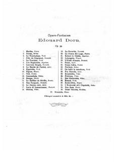Fantasie über Themen aus 'I Puritani' von Bellini, Op.39 No.26: Fantasie über Themen aus 'I Puritani' von Bellini by Edouard Dorn