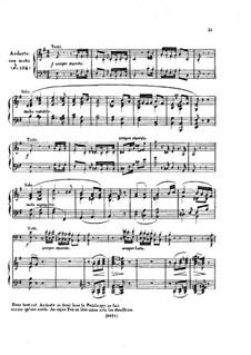 Fragmente: Teile II, III, für Klavier by Ludwig van Beethoven