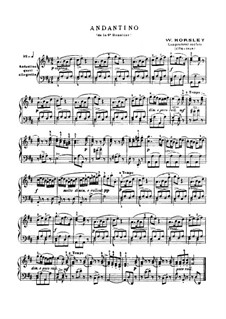 Andantino aus Sonatine Nr.6: Andantino aus Sonatine Nr.6 by William Horsley