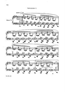 Sinfonische Etüden, Op.13: Nr.6-11 by Robert Schumann