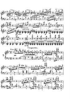 Karneval, Op.9: Nr.7-8 by Robert Schumann