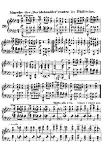 Karneval, Op.9: Nr.20 Marche des 'Davidsbündler' contre les Philistins by Robert Schumann