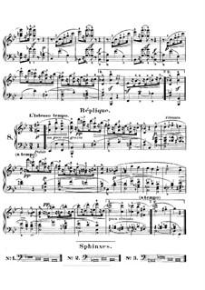 Karneval, Op.9: Nr.8 Réplique by Robert Schumann