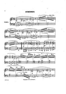 Scherzo: Scherzo by John Orth