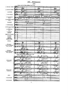 Spanische Rhapsodie, M.54: No.3 Habanera by Maurice Ravel