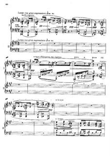 Konzert für Klavier und Orchester in f-Moll, Op.114: Teil II für zwei Klaviere, vierhändig by Max Reger