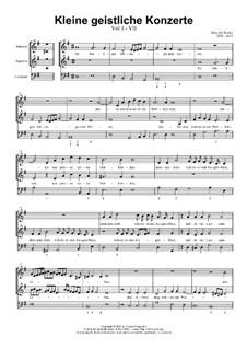 Kleine geistliche Konzerte, Op.8: Nr.7 Ihr Heiligen, lobsinget dem Herren, SWV 288 by Heinrich Schütz