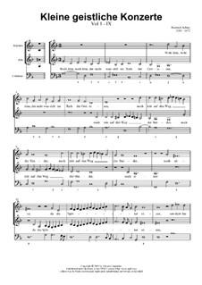 Kleine geistliche Konzerte, Op.8: Nr.9 Wohl dem, der nicht wandelt im Rat der Gottlosen, SWV 290 by Heinrich Schütz