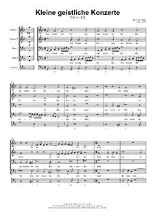 Kleine geistliche Konzerte, Op.8: Nr.20 Nun komm, der Heiden Heiland, SWV 301 by Heinrich Schütz