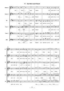 Geistliche Chormusik, Op.11: Nr.17 Das Wort ward Fleisch, SWV 385 by Heinrich Schütz