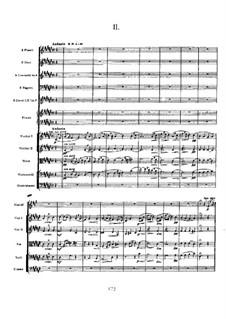 Konzert für Klavier und Orchester in fis-Moll, Op.20: Teil II by Alexander Skrjabin