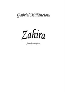 Zahira: Zahira by Gabriel Mãlãncioiu