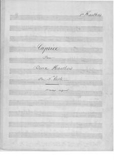 Caprice für zwei Oboen: Caprice für zwei Oboen by Napoléon Coste