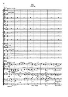 Variation Nr.9 'Nimrod': Partitur by Edward Elgar