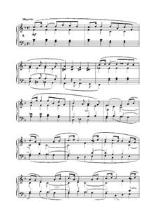 L'Organiste. Neunundfünfzig Stücke für Harmonium: Stück Nr.1 in F-Dur by César Franck