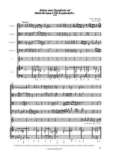 Anima mea liquefacta est, Op.34: Vollpartitur by Klaus Miehling