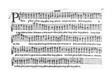 Pilons l'orge (Let's crush the barley): Singpartitur by Claudin de Sermisy