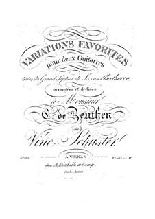 Variationen über Septett von L. van Beethoven: Variationen über Septett von L. van Beethoven by Vincenz Schuster
