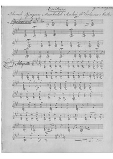 Blandt Bjergene for Cello and Guitar, Op.19: Blandt Bjergene for Cello and Guitar by Søffren Degen