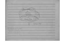 Dreiundzwanzig kleine Klavierstücke, EG 104: Dreiundzwanzig kleine Klavierstücke by Edvard Grieg