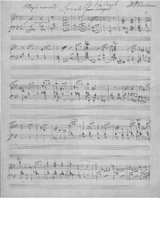 Sonate für Orgel: Sonate für Orgel by Johann Peter Emilius Hartmann
