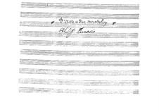 Duo für zwei Mandolinen: Partitur by Giovanni Battista Gervasio