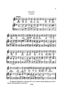 Praktische Schule des Italienischen Gesanges für Sopran und Tenor: Lehren I-IV, für Stimme und Klavier by Nicola Vaccai