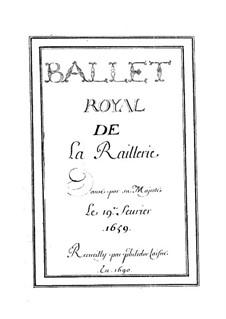 La raillerie, LWV 11: La raillerie by Jean-Baptiste Lully