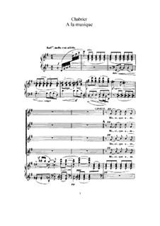 Ausgewählte Vokalwerke: Ausgewählte Vokalwerke by Emmanuel Chabrier