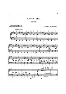 Mazurkas, Op.33: Nr.2, für Stimme und Klavier by Frédéric Chopin