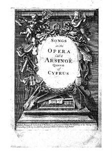Arsinoe, Queen of Cyprus: Fragmente by Thomas Clayton