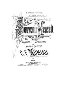 Souvenir de Henselt for Piano: Souvenir de Henselt for Piano by C.F. Kumlau