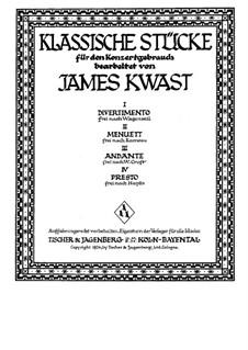 Stücke von verschiedenen Komponisten: Stücke von verschiedenen Komponisten by Joseph Haydn, Jean-Philippe Rameau, Georg Christoph Wagenseil, William Croft
