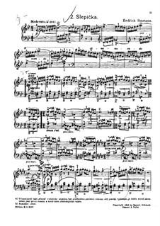 Tschechische Tänze II, T.112/2: No.2 Slepička (The Little Hen) by Bedřich Smetana