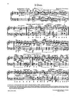 Tschechische Tänze II, T.112/2: No.3 Oves (Oats) by Bedřich Smetana