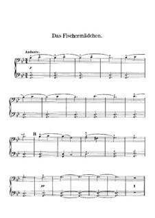 Ungarische Skizzen, Op.24: Nr.2 Der Fischermädchen – Klavierstimme II by Robert Volkmann