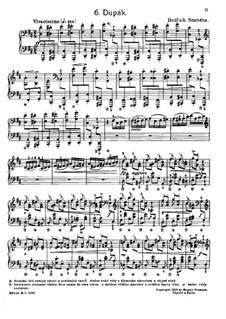 Tschechische Tänze II, T.112/2: No.6 Dupák (Stamping Dance) by Bedřich Smetana