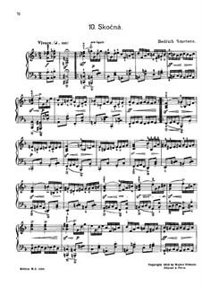 Tschechische Tänze II, T.112/2: No.10 Skočná (Leaping Dance) by Bedřich Smetana