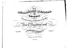 Stücke für Klavier, Op.110: Buch V by Carl Czerny