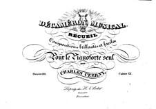 Stücke für Klavier, Op.110: Heft IX by Carl Czerny