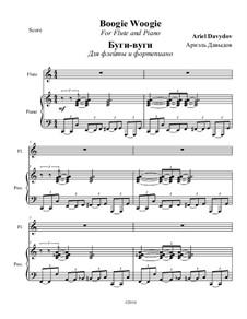 Boogie Woogie: Für Flöte und Piano by Ariel Davydov