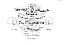 Stücke für Klavier, Op.110: Heft X by Carl Czerny