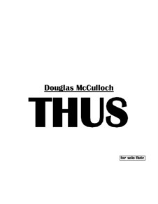 Thus: Thus by Doug McCulloch