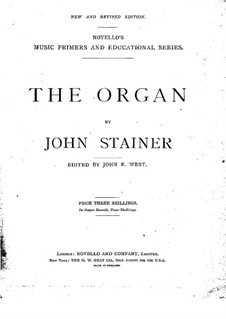 Orgel: Orgel by John Stainer