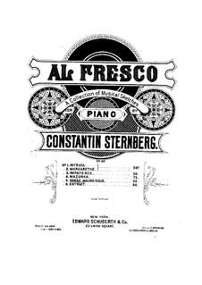 Al fresco, Op.22: No.5 Danse mauresque by Constantin Sternberg